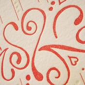 Image of 'Love Fizz', Letterpress Card