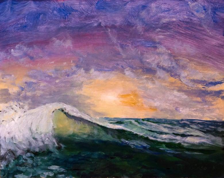 Image of Wave at Sunrise