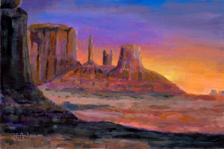 Image of Monument Valley                                                         *