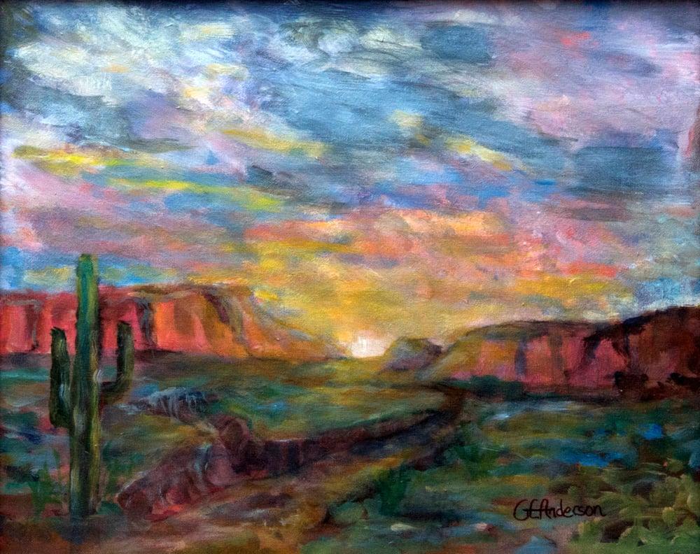 Image of Lonely Desert