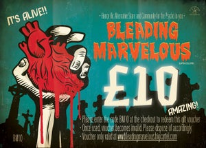 Image of Bleading Marvelous Gift Vouchers £10