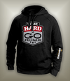 Bowl Hard or Go Home Hoodie // Black - Red - Silver