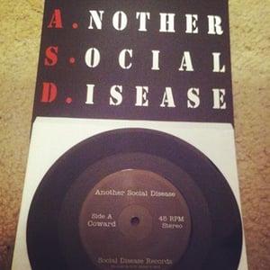 "Image of Another Social Disease - ""Coward / Bastard"" 7"""