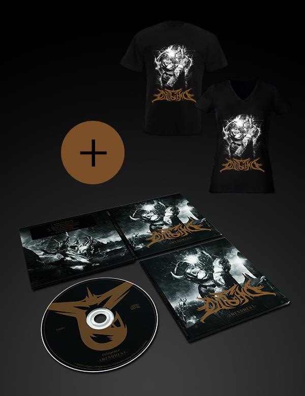 Image of Amendment EP + Devil Welder T-shirt