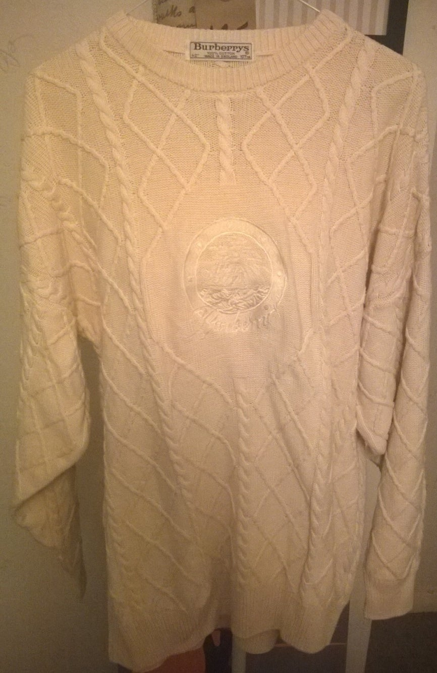 Image of Original Vintage Burberrys jumper