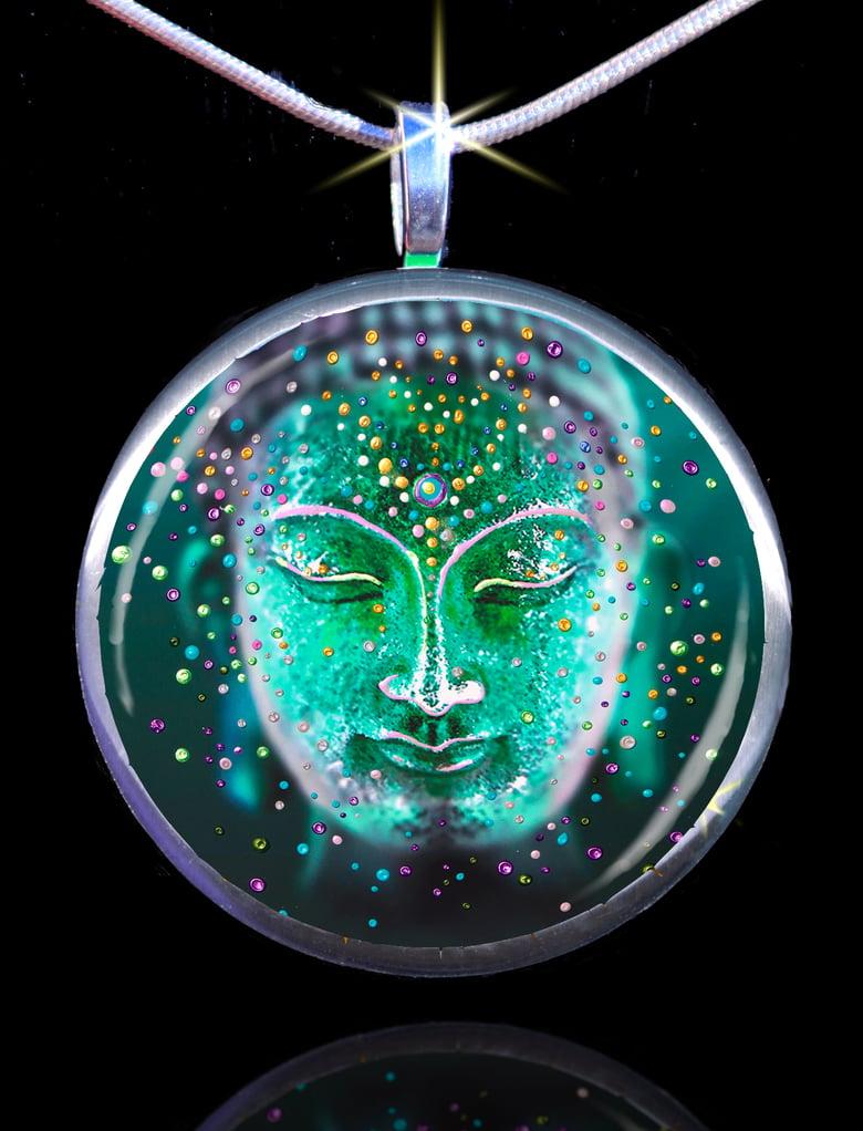 Image of The Jade Buddha Good Luck Energy Pendant