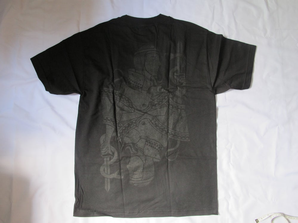 """Image of Huf x Black Scale -  Queen T-Shirt (Black) """"POKER"""" COLLECTION"""""""