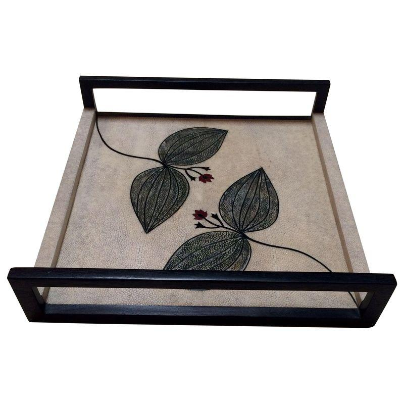 Image of R & Y Augousti of Paris Shagreen Tray