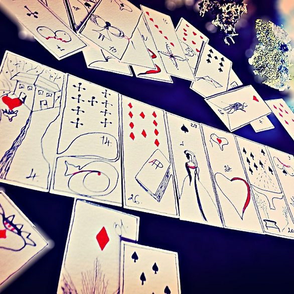 Image of A HELIUM POET LENORMAND