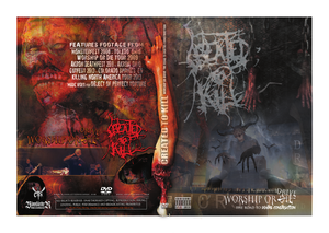 Image of Created To Kill -DVD- Worship Or Drive...The Road To Death's Construction