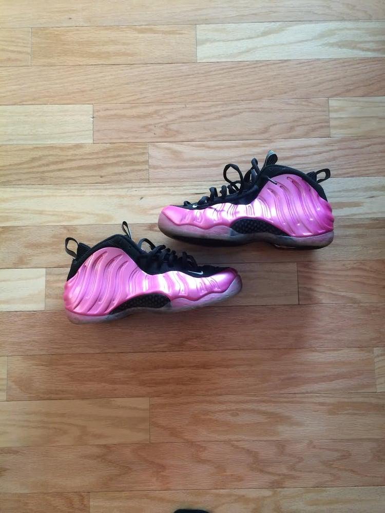 wholesale dealer 7193a 1ed6e Nike Air Foamposite Pearlized Pink