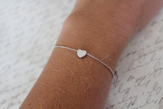 Image of Heart Chain Bracelet