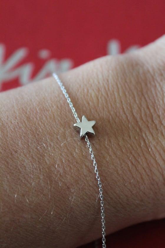 Image of Star chain bracelet