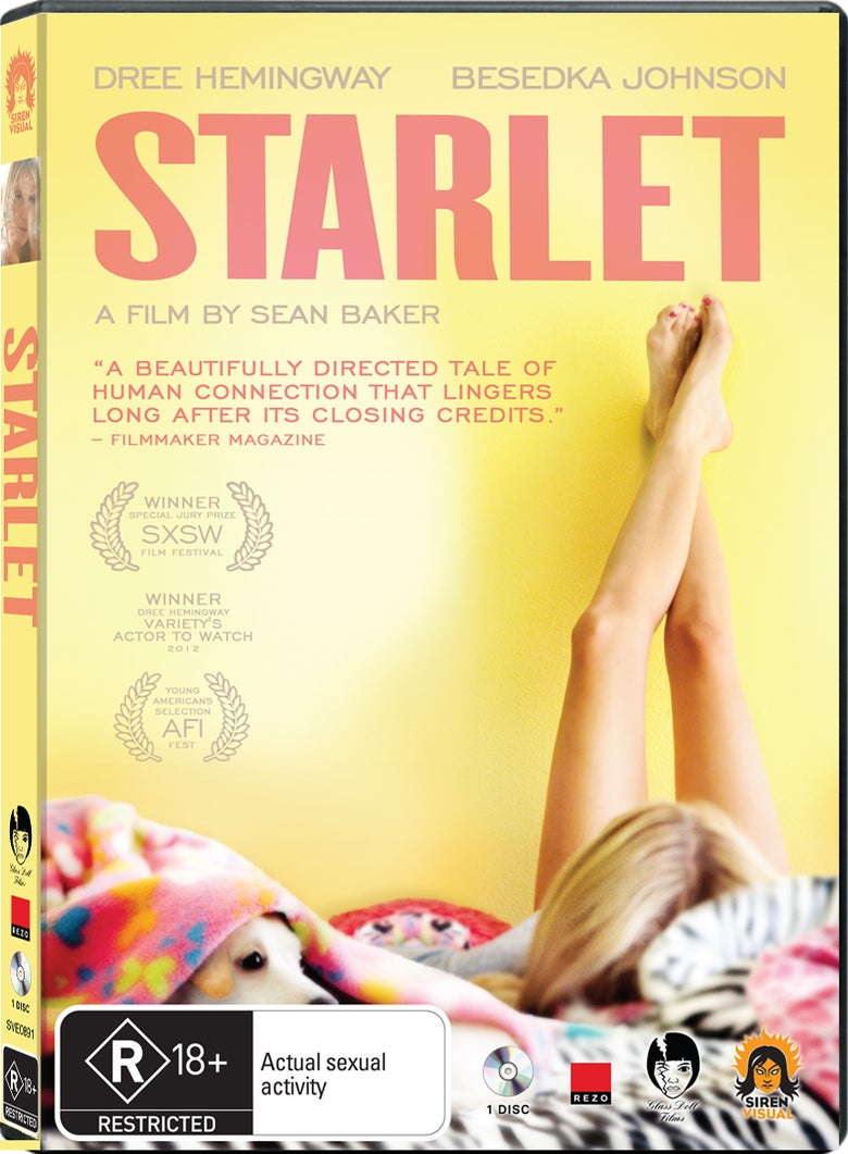 Image of Starlet DVD Region 4