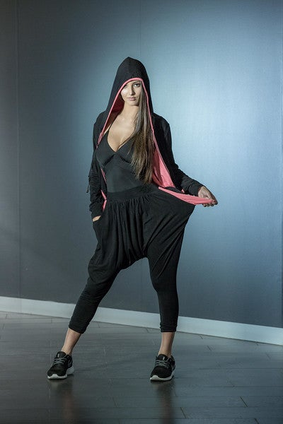 Image of Slouch Pants B5976 Dancewear latin ballroom
