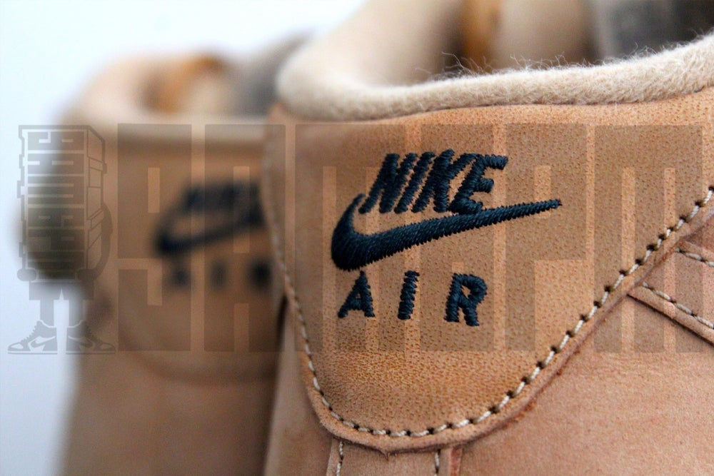 "Image of Nike AIR FORCE 1 MID '07 PREMIUM QUICKSTRIKE ""FLAX"""