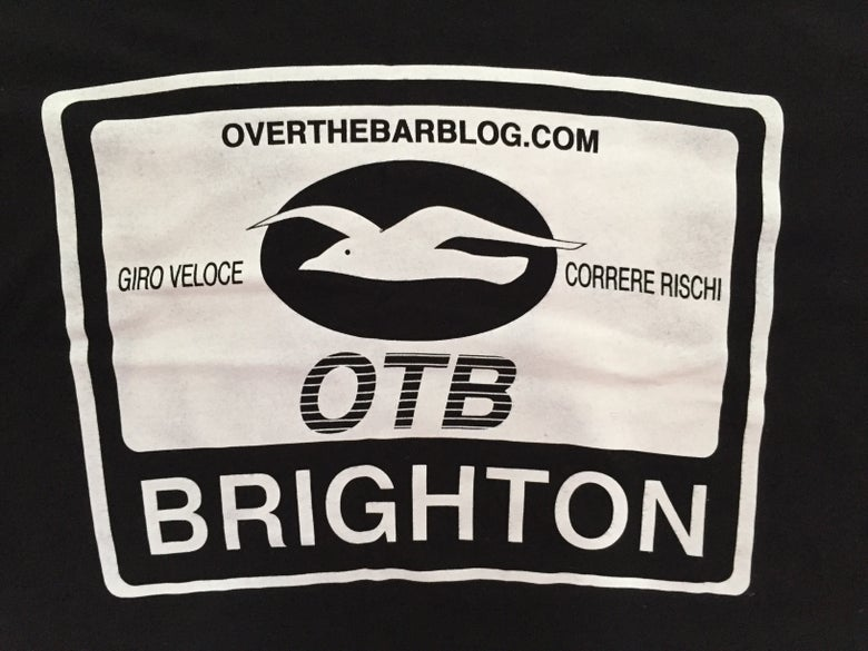 Image of OTB black bamboo t-shirt