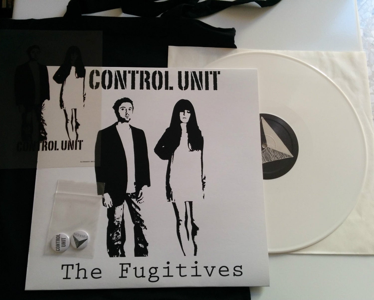 Image of CONTROL UNIT - The Fugitives LP Special Edition