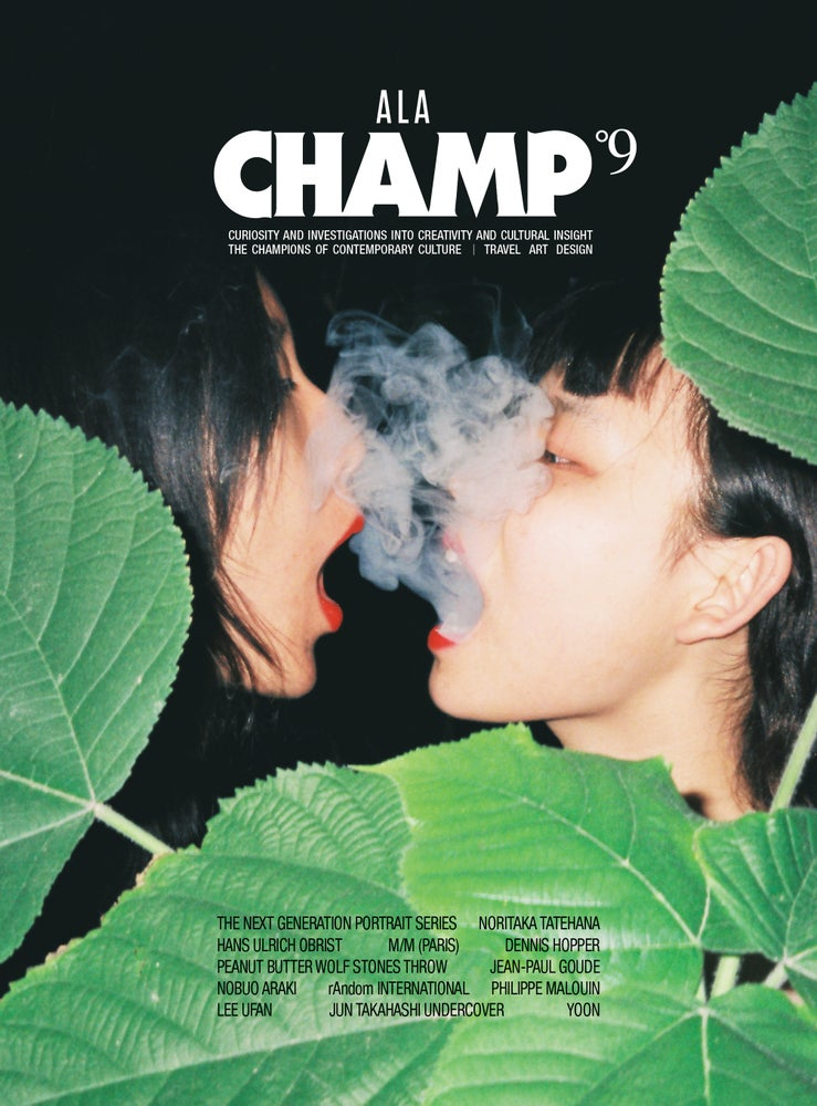 Image of ALA CHAMP MAGAZINE - ISSUE #9 - COVER 2˚