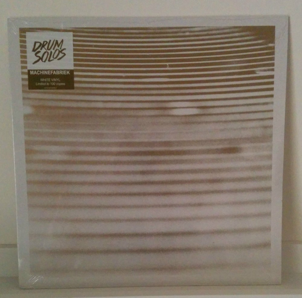 Image of MACHINEFABRIEK - Drum Solos LP [ltd.100 White Vinyl]