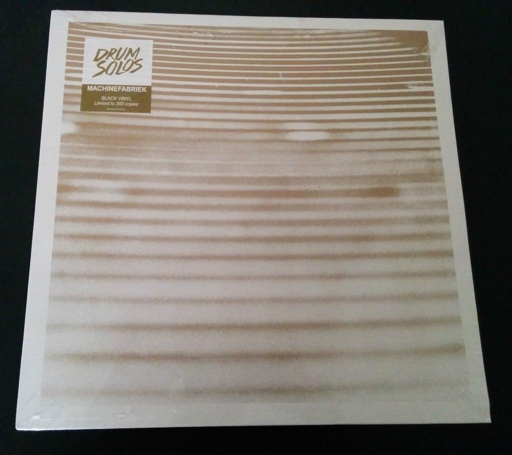 Image of MACHINEFABRIEK - Drum Solos LP [ltd.300 Black Vinyl]