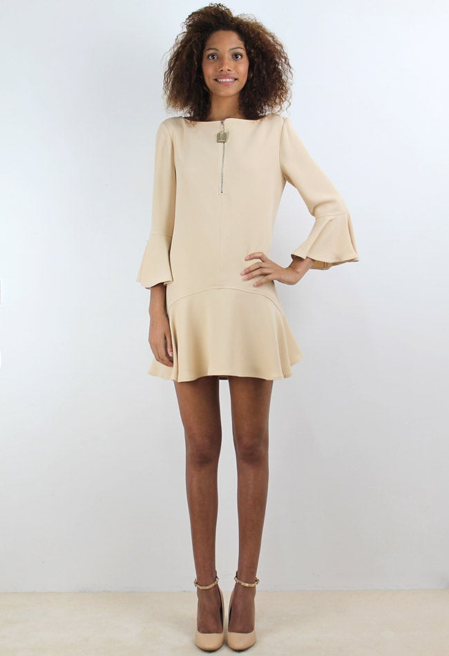 Image of BEIGE DRESS