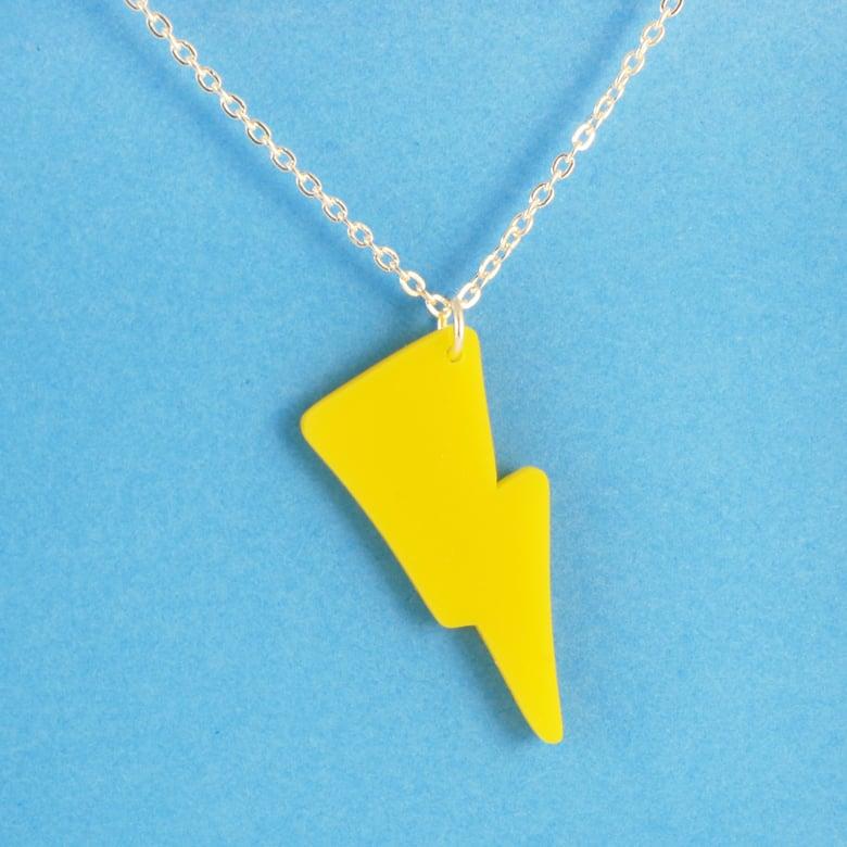 Image of Lightning Bolt necklace