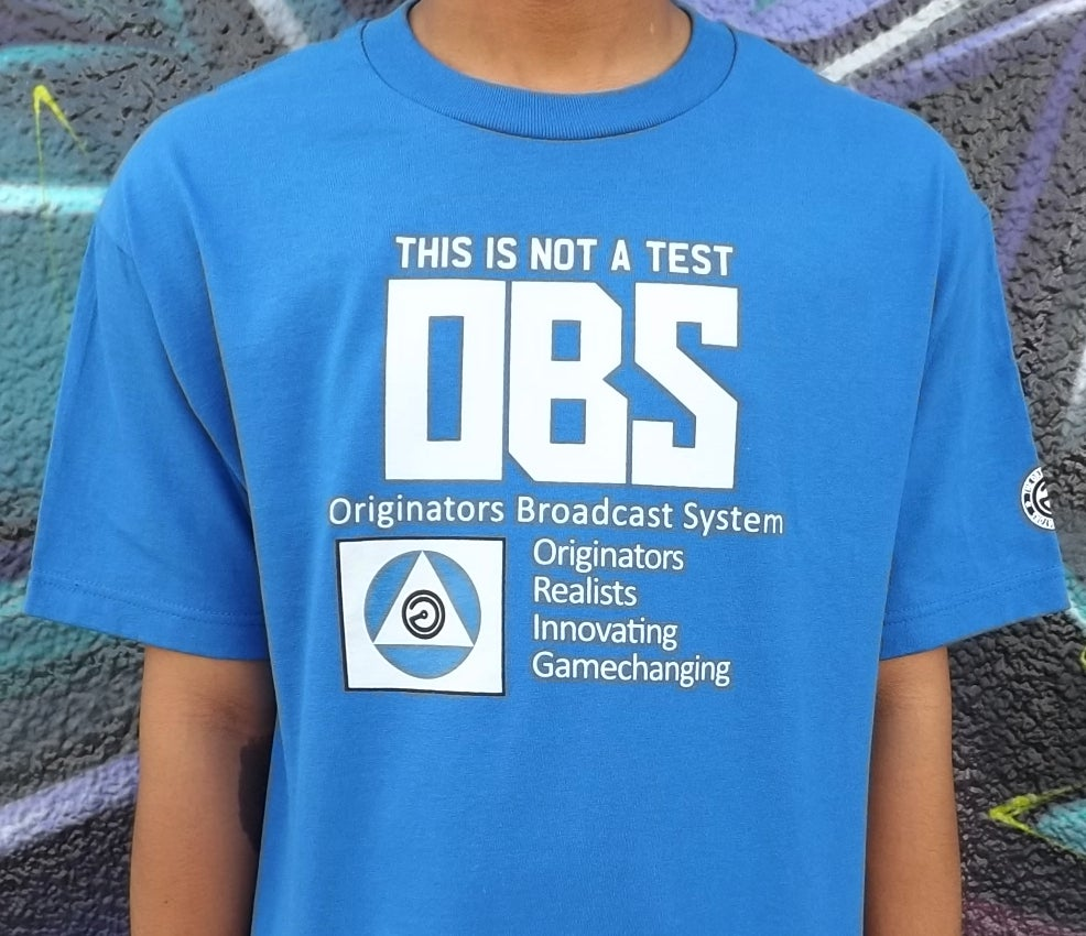 Image of OG BROADCAST (ROYAL BLUE)