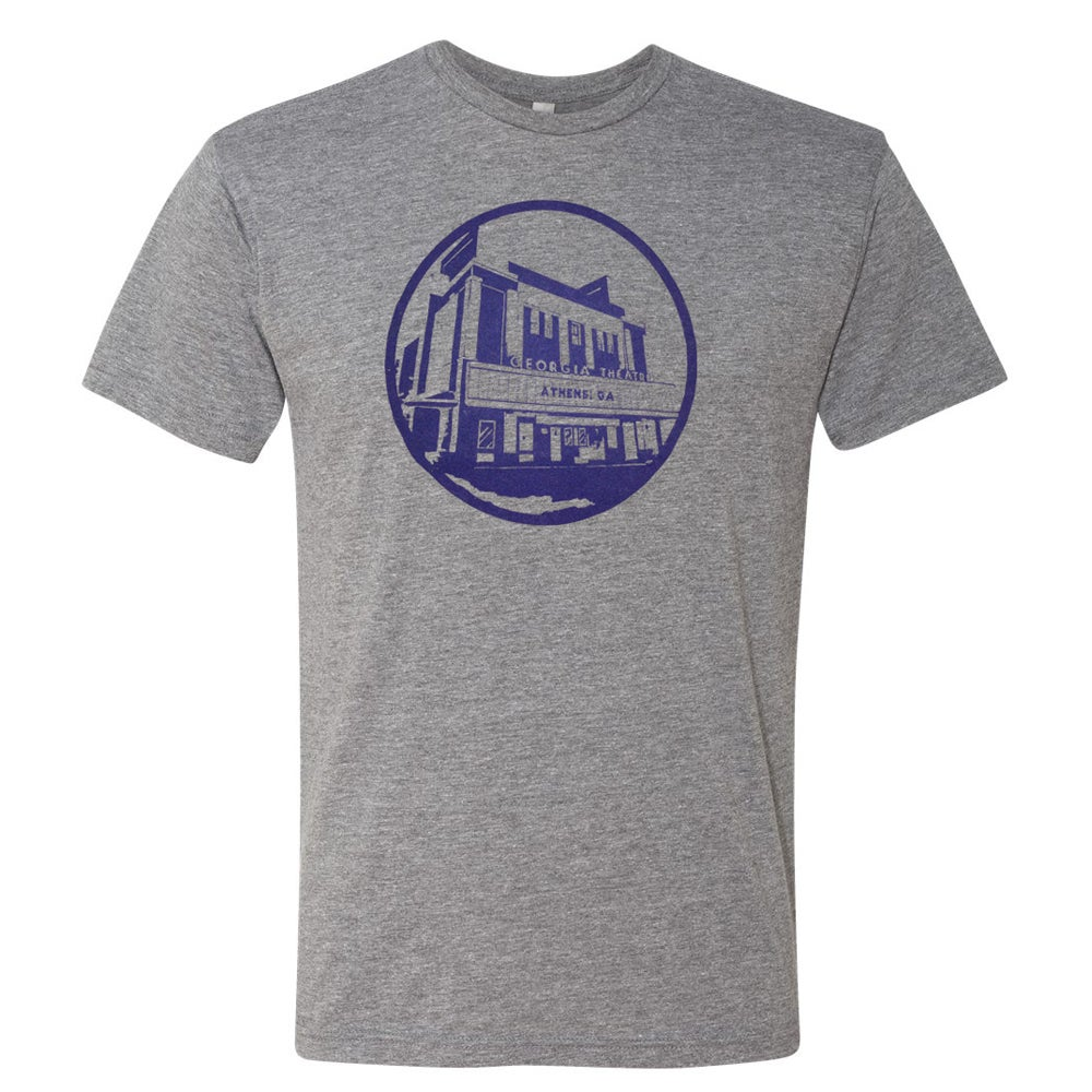 Image of GATH - Heather Gray Logo Tee
