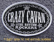 Image of CRAZY CAVAN OVAL PATCH