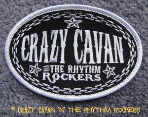 Image of CRAZY CAVAN OVAL PATCH
