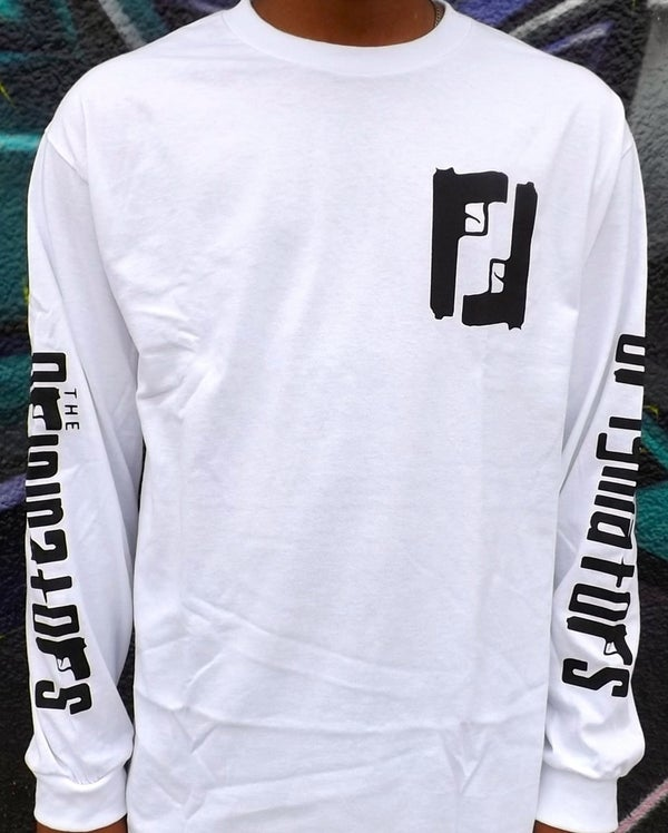 Image of OG MAFIA LONG-SLEEVE (WHITE)