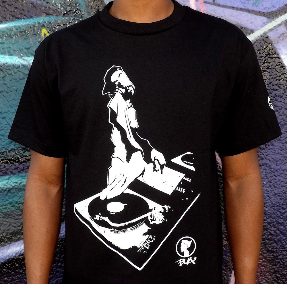 Image of THE DJ X BUA (BLACK)