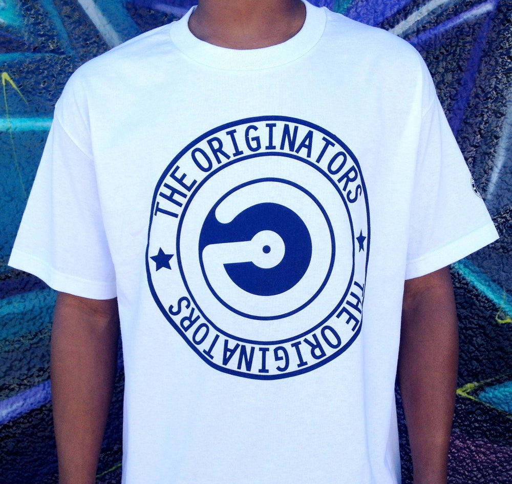 Image of OG CIRCLE LOGO (WHITE)