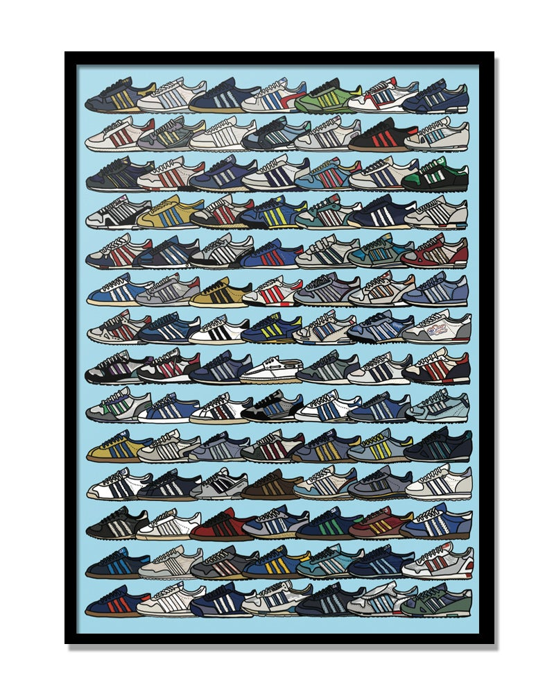Image of Adidas Quote print