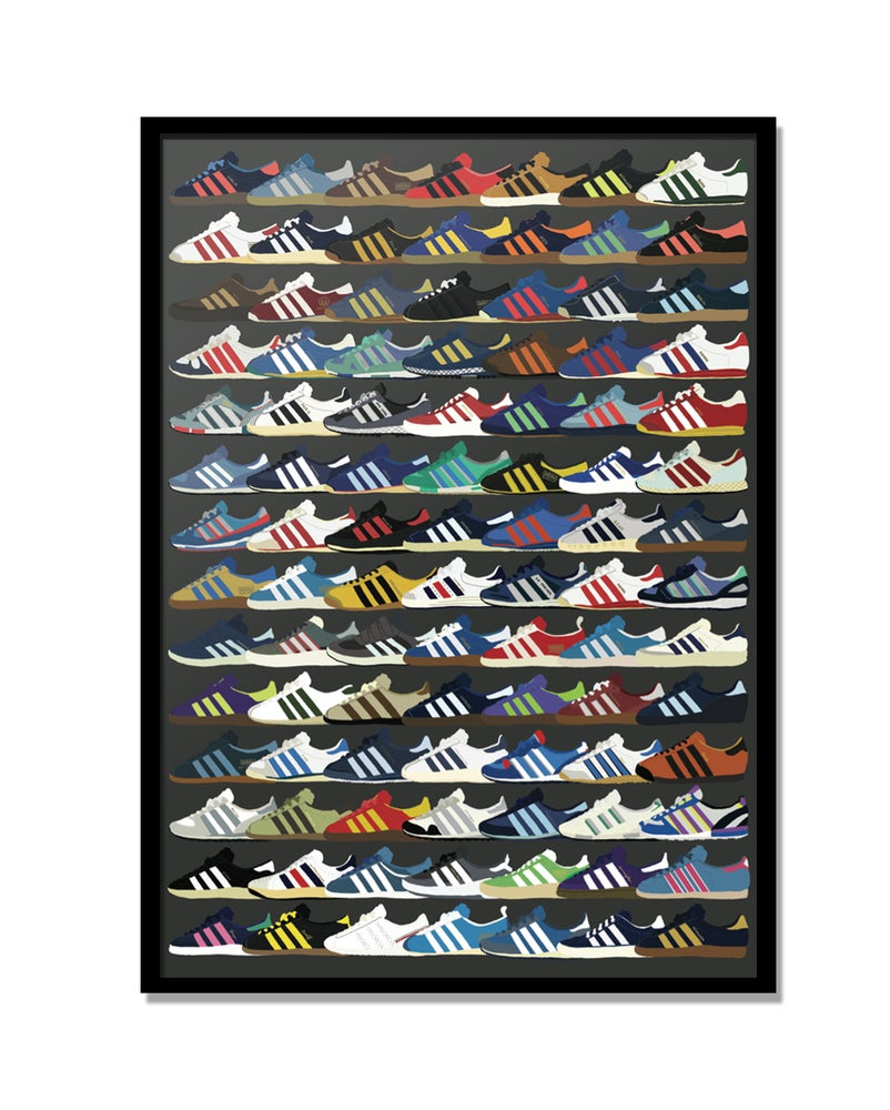 Image of Adidas city print