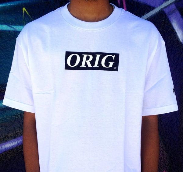 Image of ORIG BOX-LOGO (WHITE)