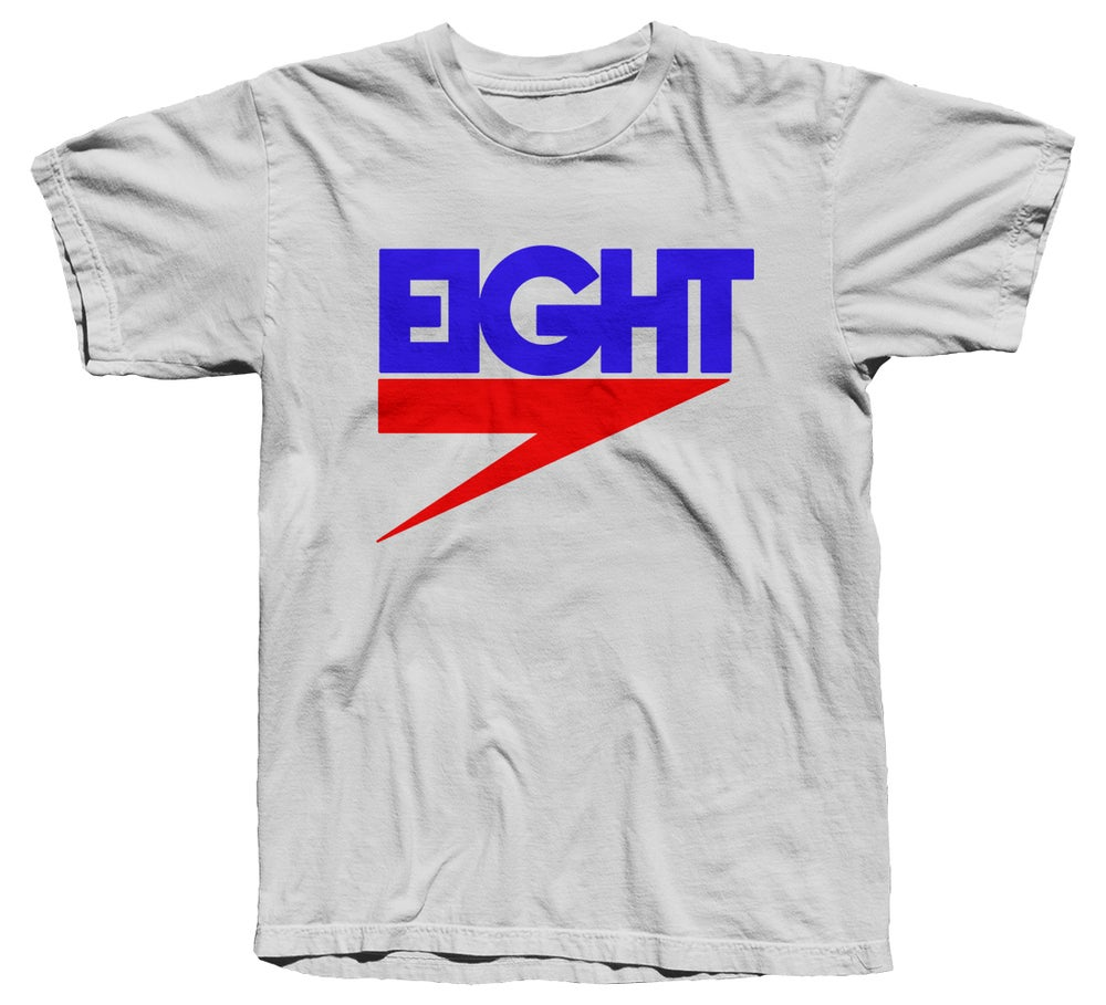 Image of Electric Eight Tee (RB/White)