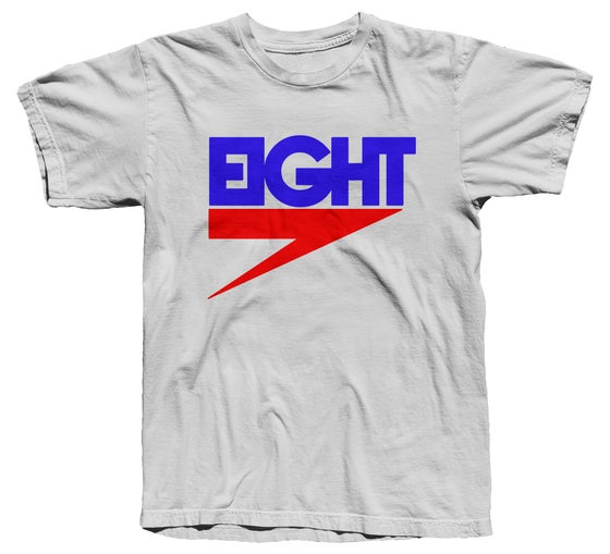 Image of Electric Eight Tee (RB/White) - Free Shipping