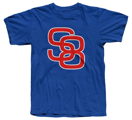 Image of Classic Logo Tee (Red/White/Blue) - Free Shipping!