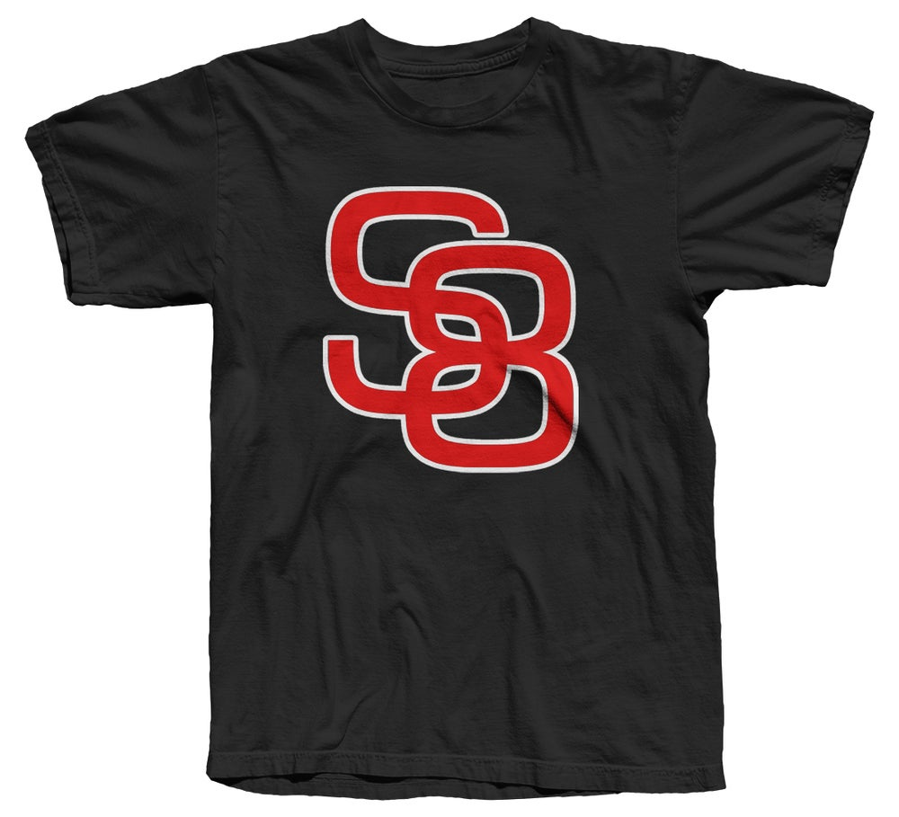 Image of Classic Logo Tee (Red/White/Black) - Free Shipping!