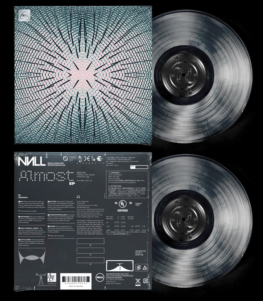Image of ACE032 - Null - Almost EP
