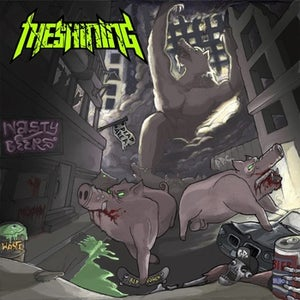 Image of The SHINING-Rise of the degenerates LP + CD