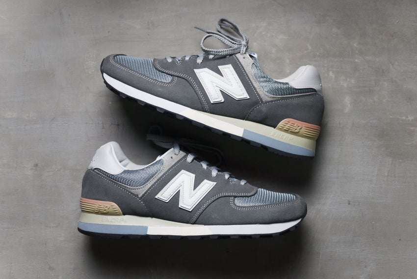 best sneakers ff2c8 06167 New Balance 576 OG 25th Anniversary Pack (Grey) - Made in England