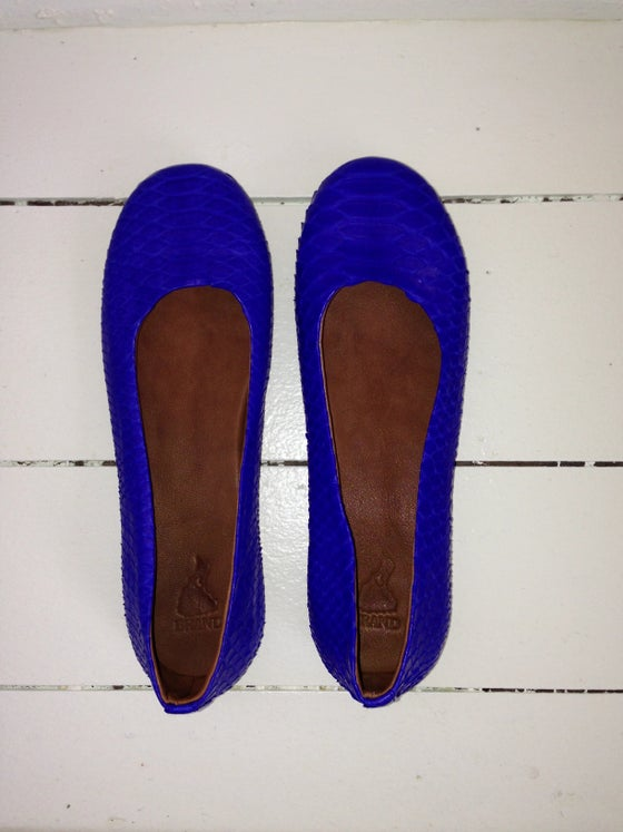 Image of Python Ballet Flats