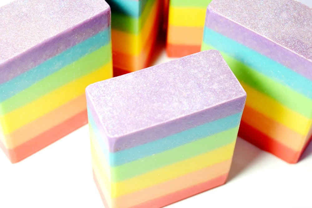 Image of REVERIE Rainbow Soap