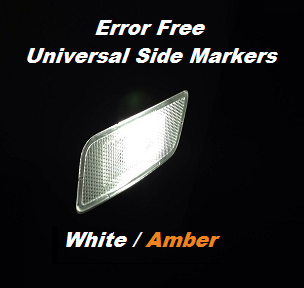 Image of Universal Error Free Side Marker LEDs - Amber or White
