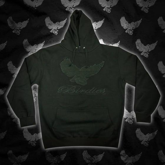Image of Black/Black Birdies OG Hoodie