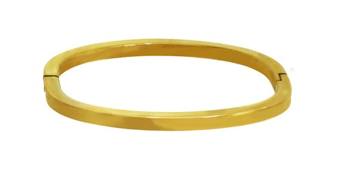 Image of VINTAGE HINGE BANGLE bracelet