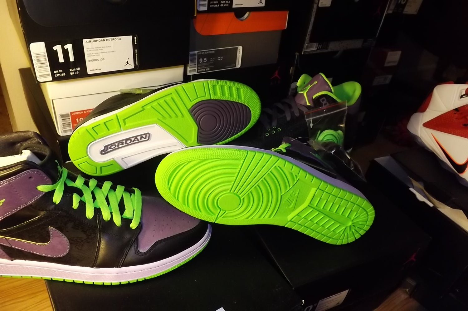 "Image of Air Jordan 3 & 1 retro ""joker set"""